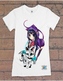 T-Shirt for girl / lady Just painting